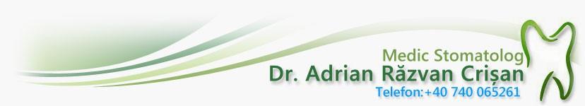 Dr Crisan Adrian  Razvan